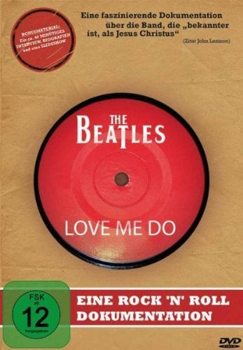 DVD THE BEATLES LOVE ME DO