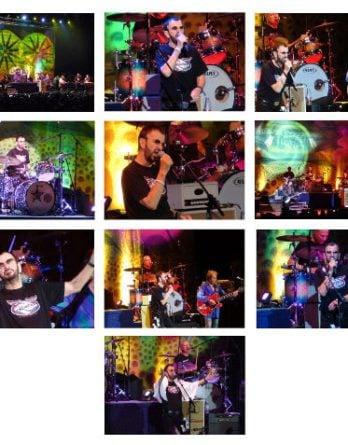 RINGO STARR: 10er Foto-Set: KONZERT MÜNCHEN 13.07.2011