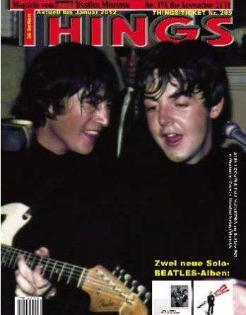 BEATLES: Fan-Magazin THINGS 198