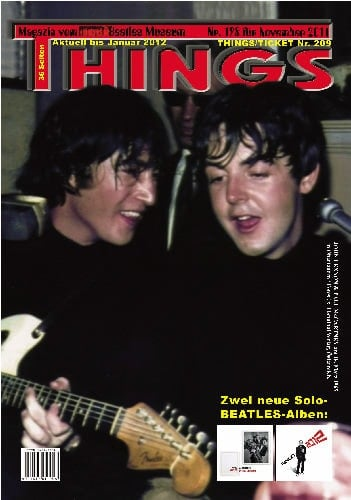 BEATLES: Fan-Magazin THINGS 198