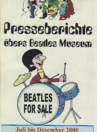 30. Dezember 2000: Broschüre BEATLES MUSEUM PRESSEBERICHTE