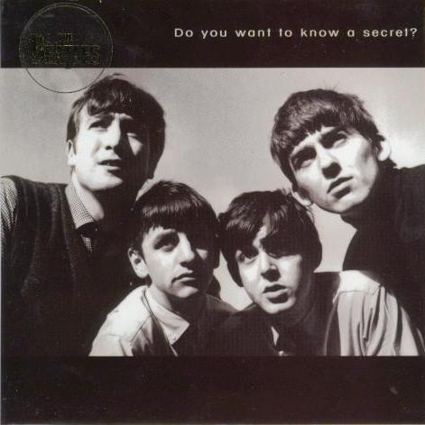 BEATLES-Grußkarte B-02: DO YOU WANT TO KNOW A SECRET?