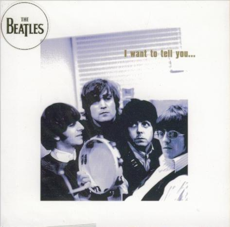 BEATLES-Grußkarte B-08: I WANT TO TELL YOU