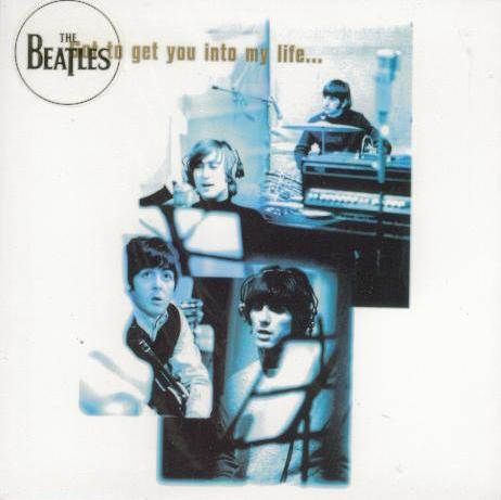 BEATLES-Grußkarte B-09: GOT TO GET YOU INTO MY LIFE