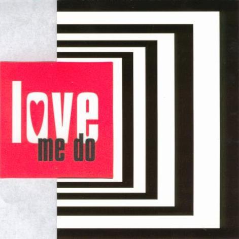 BEATLES-Grußkarte C-01: LOVE ME DO