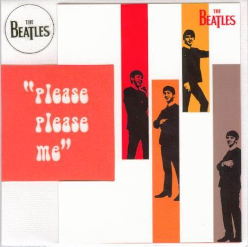 BEATLES-Grußkarte C-02: PLEASE PLEASE ME