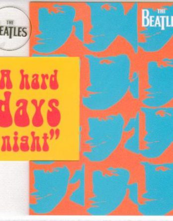 BEATLES-Grußkarte C-03: A HARD DAY'S NIGHT