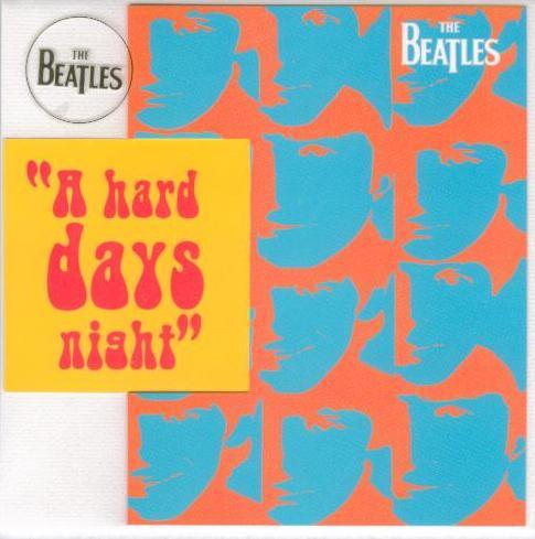 BEATLES-Grußkarte C-03: A HARD DAY'S NIGHT