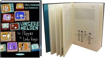 Buch UNSERE HELDEN (mit BEATLES-Kapitel)