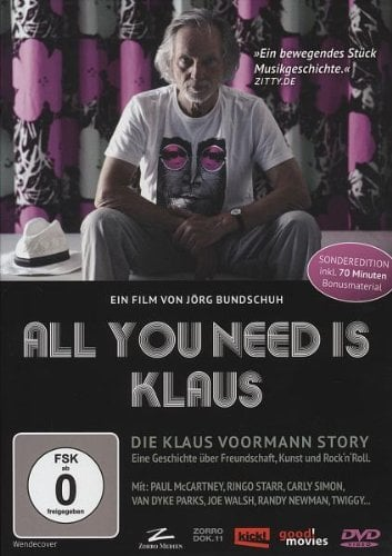 KLAUS VOORMANN: DVD ALL YOU NEED IS KLAUS