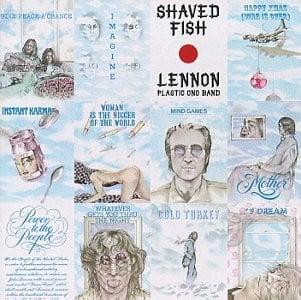 JOHN LENNON: gebrauchte LP SHAVED FISH
