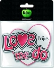 "BEATLES: Magnet BEATLES LETTERING ""LOVE ME DO"""