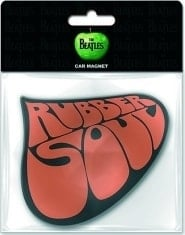 "BEATLES: Magnet BEATLES LOGO ""RUBBER SOUL"""