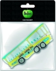 BEATLES: Magnet MAGICAL MYSTERY TOUR BUS