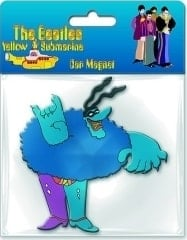 BEATLES: Magnet YELLOW SUBMARINE CHEF BLUE MEANIE