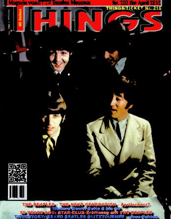 BEATLES: Fan-Magazin THINGS 203
