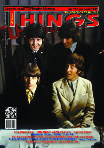 BEATLES: Fan-Magazin THINGS 203