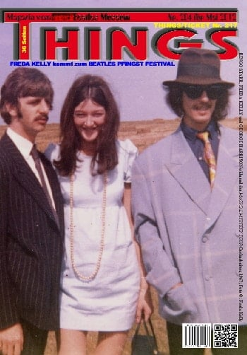 BEATLES: Fan-Magazin THINGS 1204