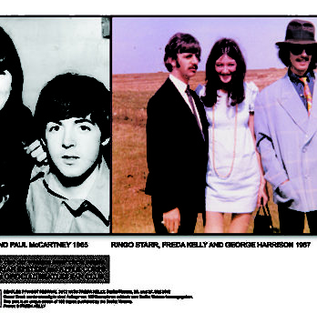 Signierter Sonderdruck FREDA KELLY & BEATLES
