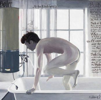 KLAUS VOORMANN: Art Print AP 41.0  Kirchherr Bathtub