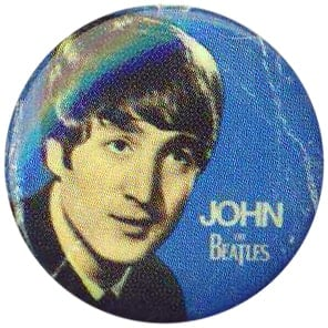 BEATLES-Button JOHN 1963