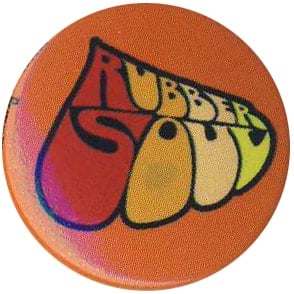 BEATLES-Button RUBBER SOUL LOGO