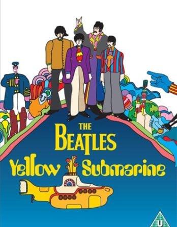 BEATLES: 2012er DVD YELLOW SUBMARINE
