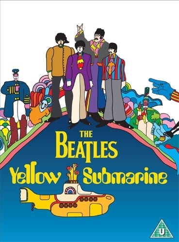 BEATLES: 2012er DVD YELLOW SUBMARINE