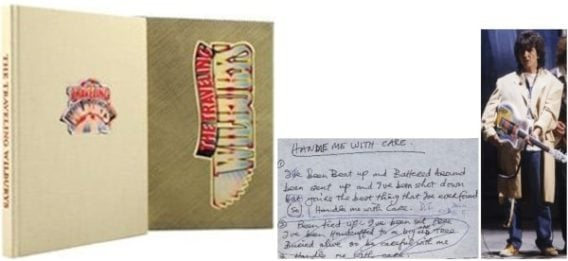 Buch in Box THE TRAVELING WILBURYS standard edition