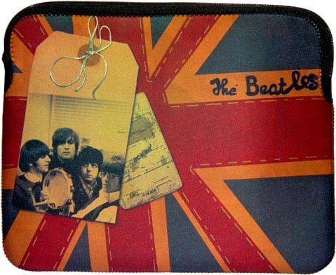 Notebook-Tasche THE BEATLES 1966 & UNION JACK