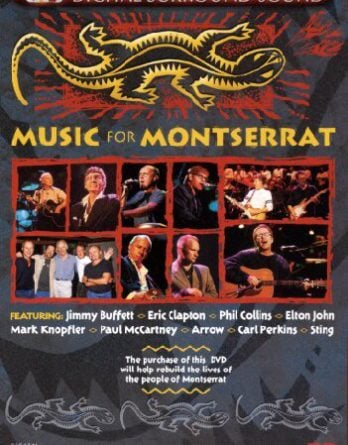 PAUL McCARTNEY & andere: DVD MUSIC FOR MONTSERRAT
