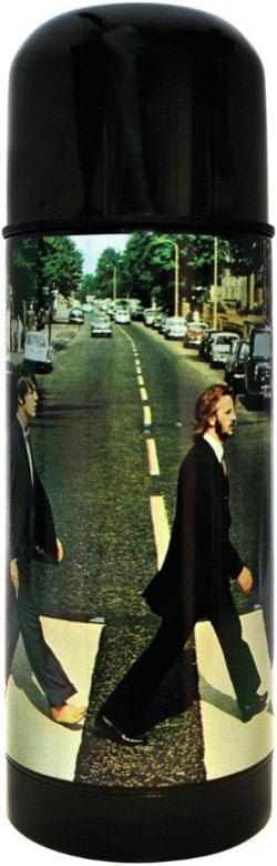 BEATLES: Thermosflasche ABBEY ROAD