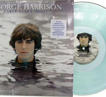 GEORGE HARRISON: green vinyl LP THE EARLY TAKES VOLUME ONE