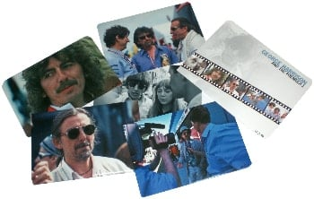 5 Fotos GEORGE HARRISON AND THE FORMULA 1