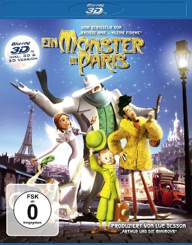 SEAN LENNON Blu-ray EIN MONSTER IN PARIS