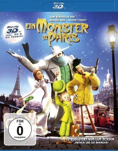 SEAN LENNON Blu-ray EIN MONSTER IN PARIS