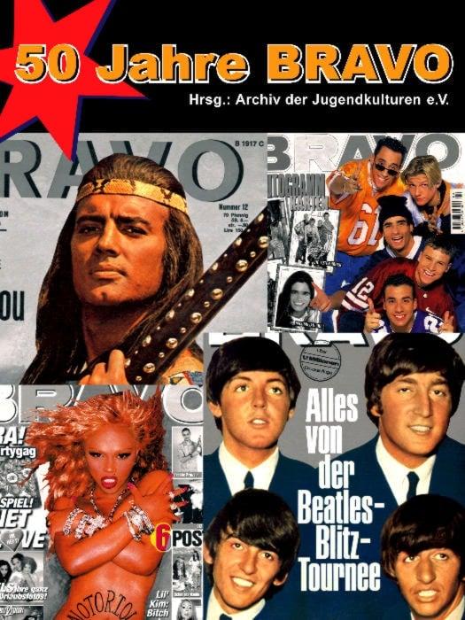 Buch 50 JAHRE BRAVO