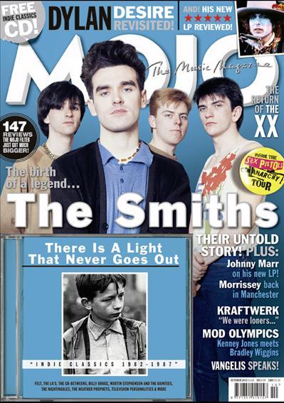 Musikmagazin MOJO 2012/10 mit CD