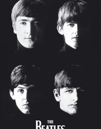 BEATLES: POSTER WITH THE BEATLES