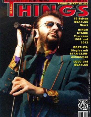 BEATLES: Fan-Magazin THINGS 209