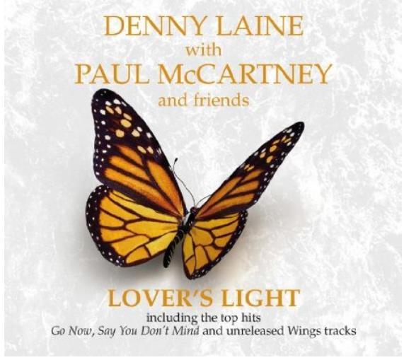 DANNY LAINE with PAUL McCARTNEY: CD LOVER'S LIGHT