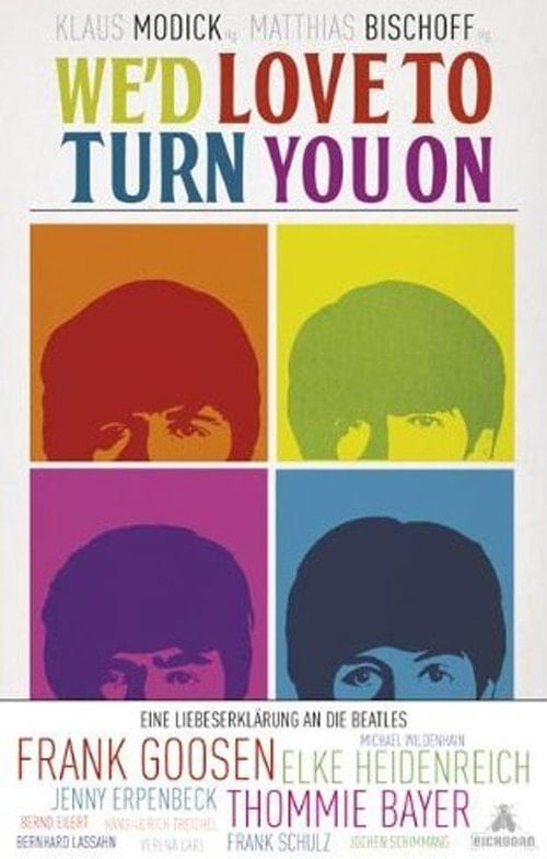 Buch auf Deutsch WE'D LOVE TO TURN YOU ON mit BEATLES-Themen