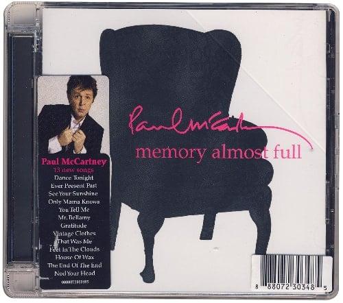 PAUL McCARTNEY: CD MEMORY ALMOST FULL
