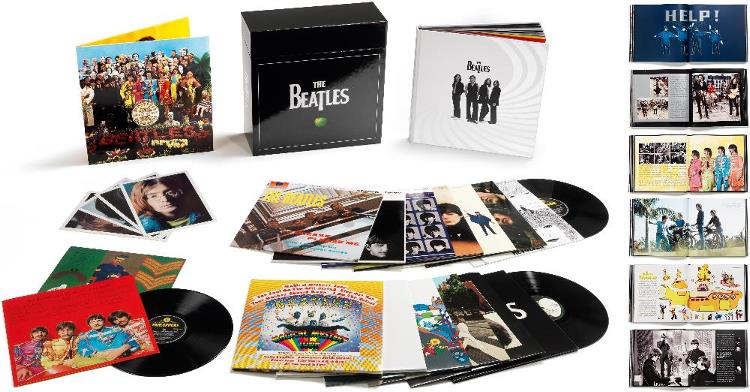 Box (16 LPs) THE BEATLES STEREO VINYL BOX SET