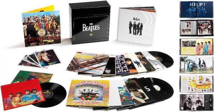Box (16 LPs) THE BEATLES STEREO VINYL BOX SET