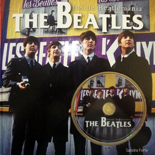 Buch mit DVD THE BEATLES INSIDE BEATLEMANIA