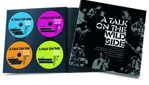 Buch & 4 CDs A TALK ON THE WILD SIDE