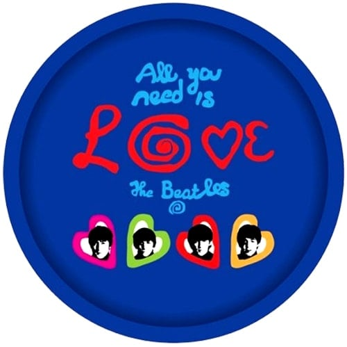 BEATLES Tablett ALL YOU NEED IS LOVE