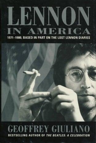 BUCH LENNON IN AMERICA - 1971-1980 (USA Ausgabe)