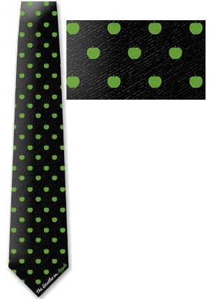BEATLES-Krawatte APPLE LOGO